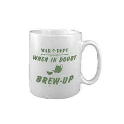 """Keraamiline kruus """"Brew Up"""", valge"""
