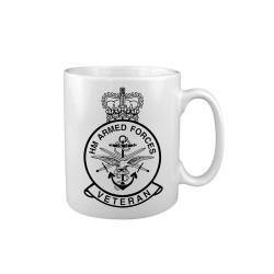 "Keraamiline kruus ""HM Veterans"", valge"