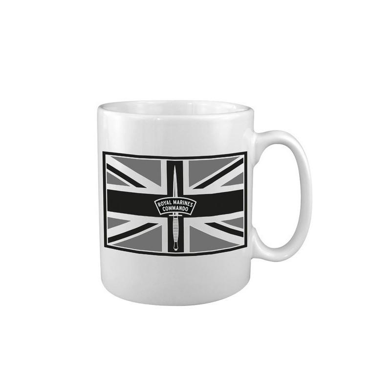 """Keraamiline kruus """"Royal Marines / Union Jack"""", valge"""
