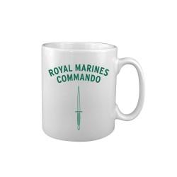 """Keraamiline kruus """"Royal Marines Commando"""", valge"""