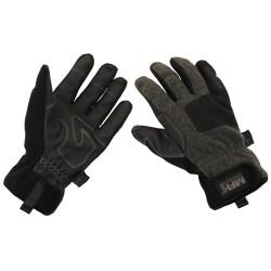 Зимние перчатки, «Холодное время», ветрозащитный, серый