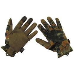 Тактические перчатки «Легкий», bw camo