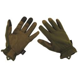 Тактические перчатки «Легкий», OD зеленый
