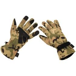 Tactical Softshell перчатки, операция камуфляжа