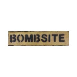 """Знак """"Bombsite"""""""