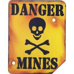 """Знак """"Danger Mines"""""""