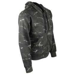 Kombat Camouflage hoodie, BTP black camo