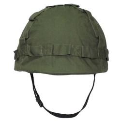 US Пластиковые шлем с тканью крышкой