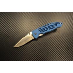 Джек нож, одной рукой, синий