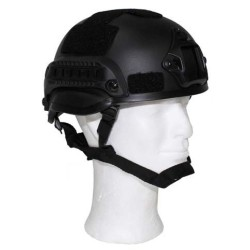 "US Шлем, ""MICH 2002"", черный, ABS-пластик"