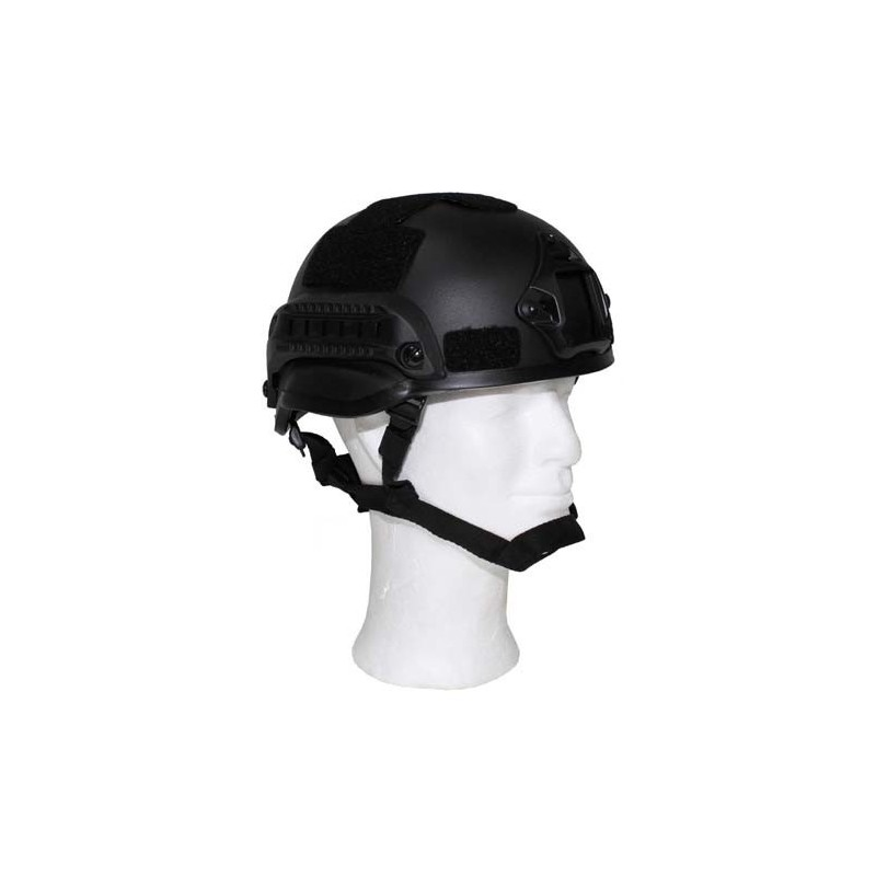 "US Helmet, ""MICH 2002"", black, ABS-plastic"