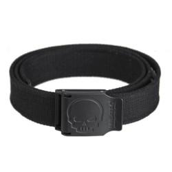 Mil-tec belt Skull, black