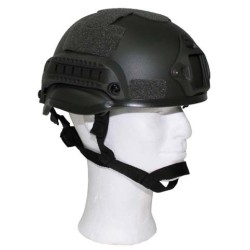 """US Helmet, """"MICH 2002"""", OD green, ABS-plastic"""