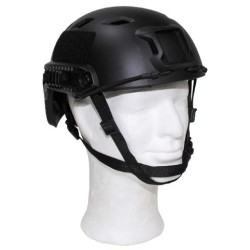 "US Helmet, ""FAST-paratroops "", black, ABS-plastic"