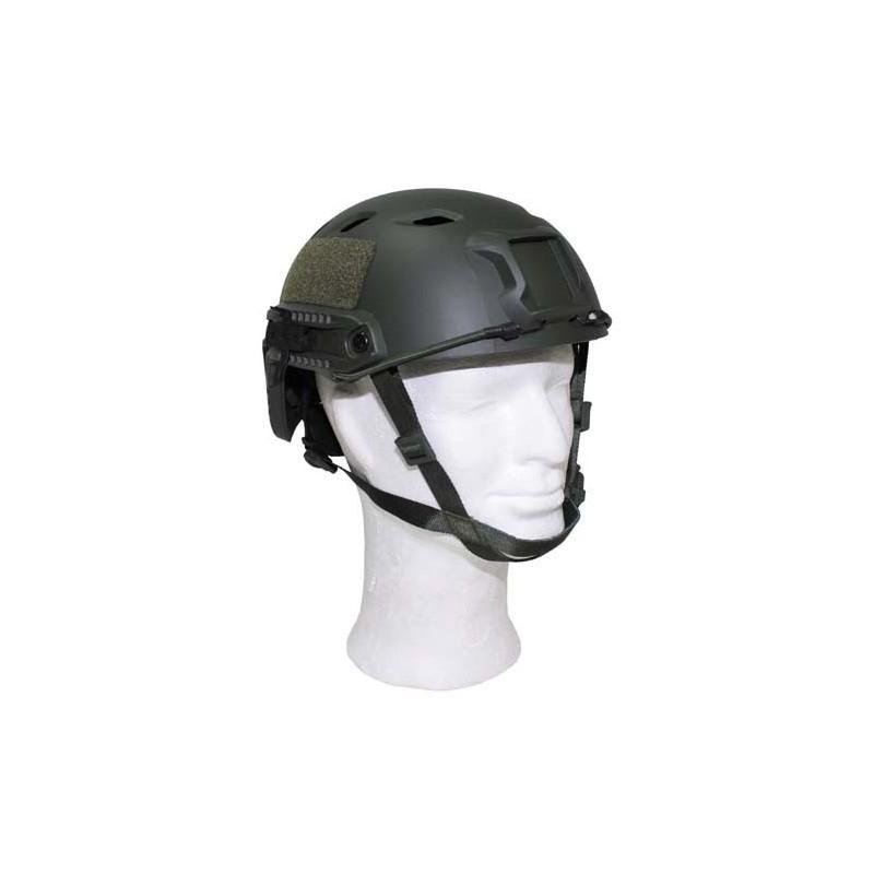"US Helmet, ""FAST-paratroops "", OD green, ABS-plastic"
