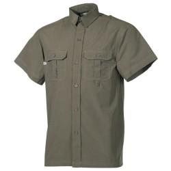 Lühikeste käistega särk, oliivroheline