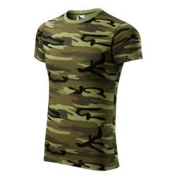 Футболка Adler Camouflage, унисекс, камуфляж