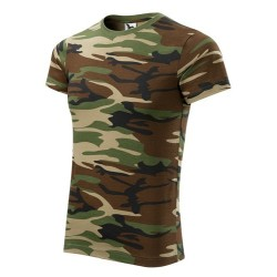 Футболка Adler Camouflage, унисекс, camo brown
