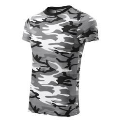 Футболка Adler Camouflage, унисекс, camo grey
