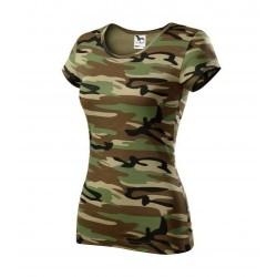 Adler Pure женская футболка, camo brown