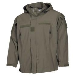 US SoftShell Jacket, OD green, Level 5, PCU