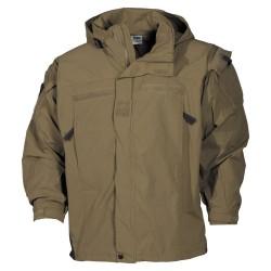 США Soft Shell куртка, coyote, Уровень 5, PCU