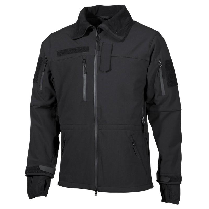 "Soft Shell Jacket, black, ""High Defence"""