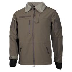 "Soft Shell куртка, OD зеленый, ""High Defence"""