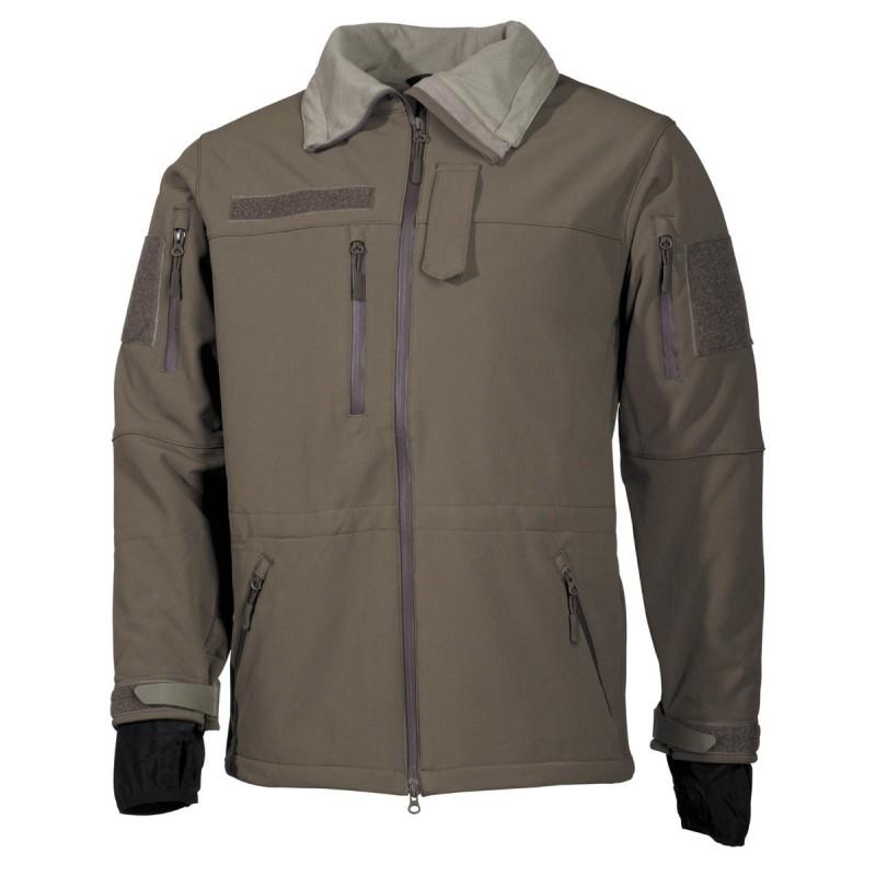 "Soft Shell Jacket, OD green, ""High Defence"""