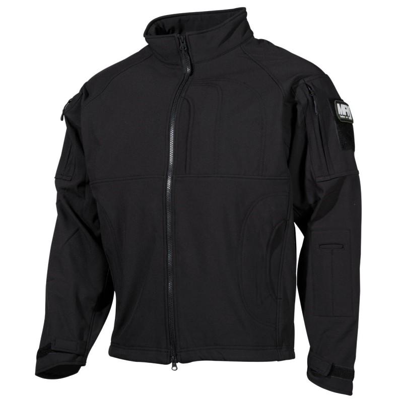 "Soft Shell Jacket, ""Liberty"", black"