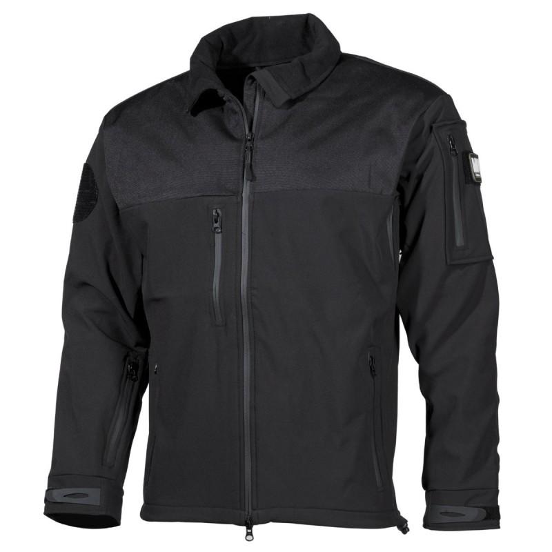 "Soft Shell Jacket, ""Australia"", black"