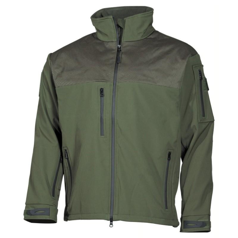 "Soft Shell Jacket, ""Australia"", OD green"