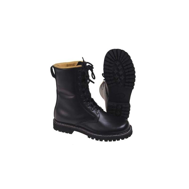 Combat boots - saapad, must