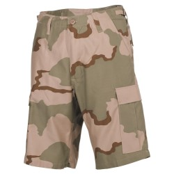 Lühikesed püksid U.S. Bermuda, 3-värviline kõrbelaik