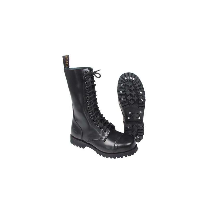 Boots, 14 hole, black