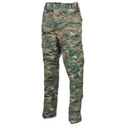 US ACU Field Pants, Rip Stop, digital woodland