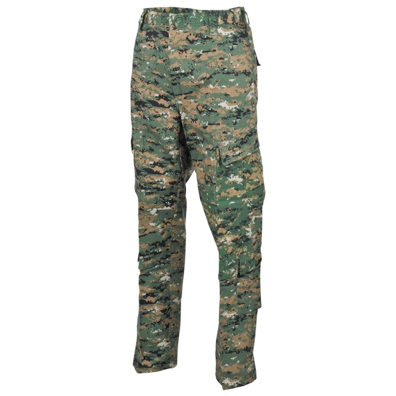 US брюки, ACU, Ripstop, digital woodland