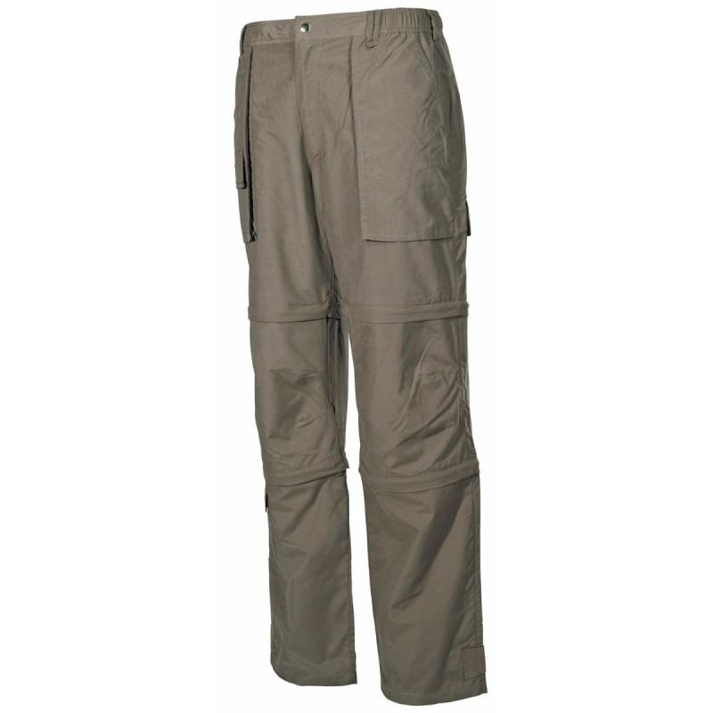 Multifunctional Pants, microfiber, OD green