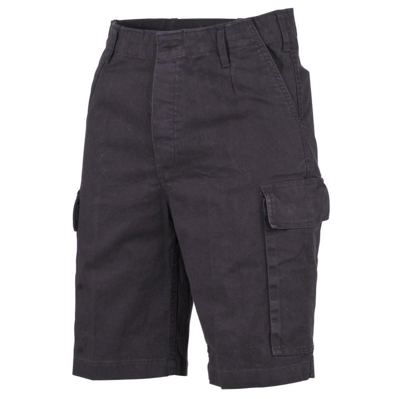 Lühikesed püksid (Bermuda) BW Moleskin, must