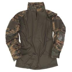 Тактическая рубашка «Warrior», digital woodland