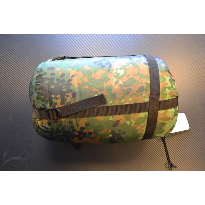 Sleeping Bag, bw camo, lining 450g qm, polyester