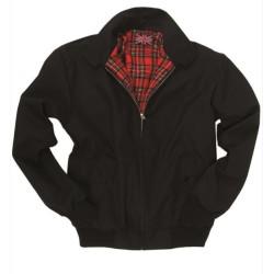 Куртка «Английский стиль», зима, подкладка, черный