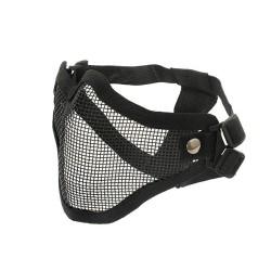 Steel, Protective half face mask V1, black