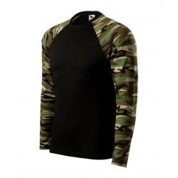 Pубашка с длинным рукавом Adler Camouflage, унисекс, camo brown