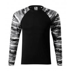 Pубашка с длинным рукавом Adler Camouflage, унисекс, camo grey