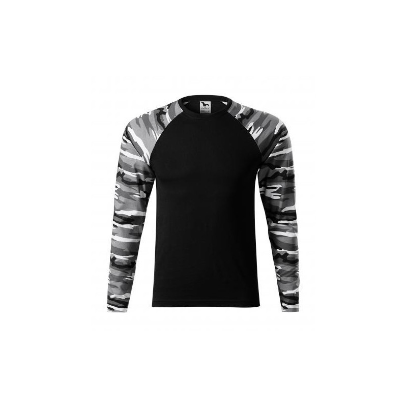Adler laiguline pikakäiseline särk, unisex, camo grey