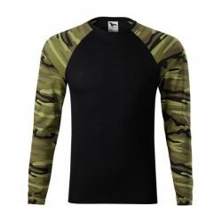 Pубашка с длинным рукавом Adler Camouflage, унисекс, камуфляж