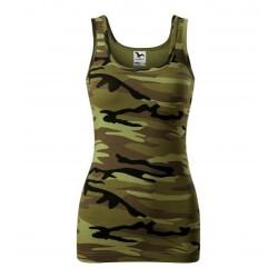 Adler women camouflage top, Triumph, camo green