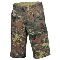Bundeswehr Bermuda pants, Bw camo