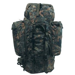 "Backpack ""Alpin110"", BW camo"